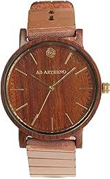 Gli orologi si caratterizzano per il nuovo ed innovativo cinturino in flexible wood, una vera novità ed innovazione nel campo dell'orologeria. Ultra-flessibile e al contempo resistente, il nuovo cinturino AB AETERNO è il risultato di un processo di l...