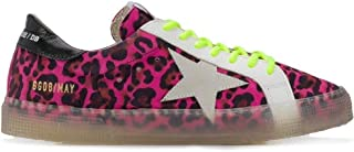 GOLDEN GOOSE Women's G34WS127L3 Multicolor Leather Sneakers