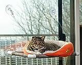 Kitty Cot Original World's Best Cat Perch (Large) Black...