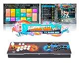 ARCADORA 3A Pandora Box Saga Consola WiFi Arcade 6800 Juegos 8 Botones Agregar más Juegos 3D Buscar/Guardar/Ocultar/Pausar Juegos 1280x720P Registro de puntaje Alto Lista de Favoritos 4 Jugadores