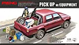 MENG-Model VS-002 - Fahrzeug Pick Up with Equipment -