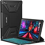 Best Infiland Bluetooth Keyboards - INFILAND Galaxy Tab A7 Backlit Keyboard Case, Multi-Angle Review