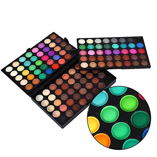 Belissy Eyeshadow Palette Palette Maquillage Yeux, 120 Couleurs chatoyantes Professionnels Matte Eyeshadow Palette Yeux Maquillage cosmétiques Set Tool Kit