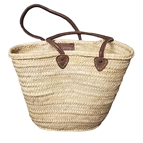 Amazon.com | Anew Straw Bag French Basket Handmaded in Morocco
