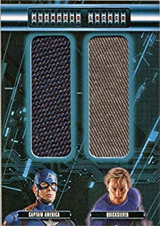 Marvel Avengers Age of Ultron Costume AL2-CP Dual Capt. America and Quicksilver
