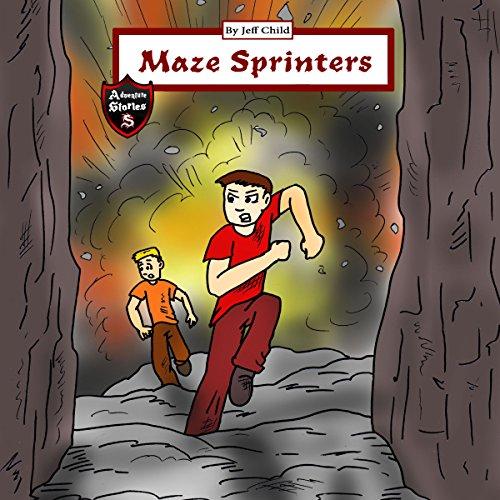 Maze Sprinters audiobook cover art