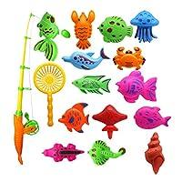 yotijar ベビーキッズ釣りおもちゃビーチサンドボックスSwmmingプール砂おもちゃに少年少女 - 13個の作品