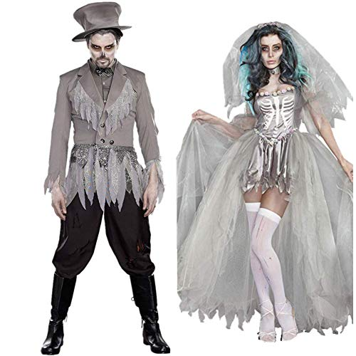 tiger cloth spookey Halloween costume for couples
