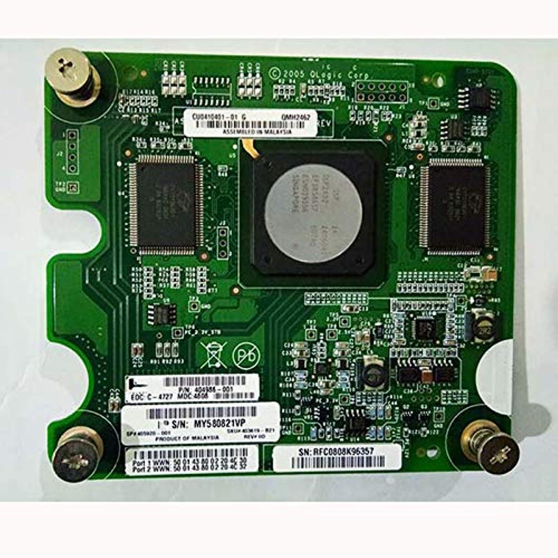 収束着陸限定WanSen 404986-001 4G デュアルポートファイバーカード QMH2462 405920-001 403619-B21