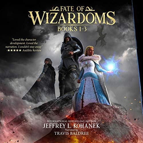 Fate of Wizardoms Boxed Set: An Epic Fantasy Series audiobook cover art