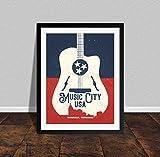 Rac76yd Nashville Druck Nashville Tennessee Music City USA