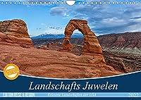 Landschafts Juwelen - Erlesene Landschaften der USA (Wandkalender 2022 DIN A4 quer): Entdecken Sie die unberuehrte und atemberaubende Landschaften des amerikanischen Suedwestens (Monatskalender, 14 Seiten )