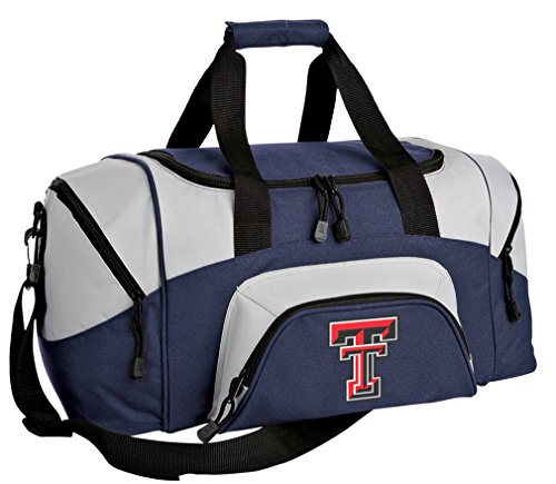 Broad Bay Small Texas Tech Gym Bag Deluxe Texas Tech Red Raiders Travel Duffel Bag