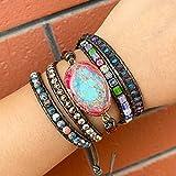 Zoom IMG-2 haifiy braccialetto in pelle con
