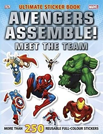 Marvel Avengers Assemble! Ultimate Sticker Book Meet the Team (Ultimate Stickers) by DK(2012-01-01)