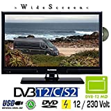 Telefunken L20H270K4DVI LED TV 20 Zoll DVB/S/S2/T/T2/C, DVD, USB, 230/12 Volt