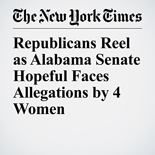Republicans Reel as Alabama Senate Hopeful Faces Allegations by 4 Women copertina