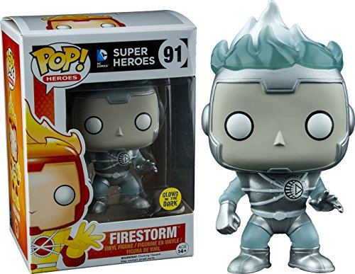 Funko POP Heroes: Firestorm White Lantern by Pop