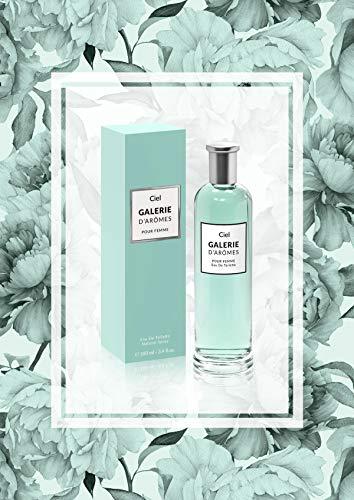 Galerie d'Aromes Ciel Eau de Toilette für Frauen 100 ml (3.4 fl.oz) Vaporisateur/Spray, orientalischer Blumenduft für sie