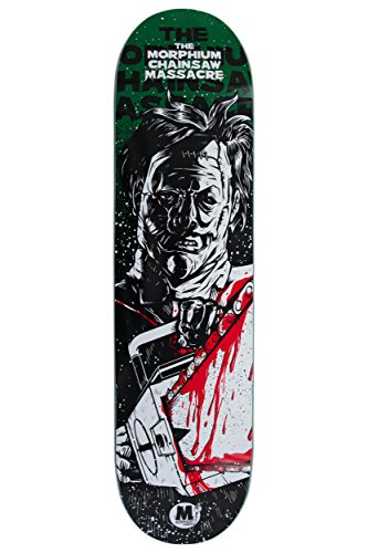 Morphium Skateboards Deck Leatherface 7.875 inkl. Grip