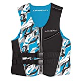 Airhead Men's CAMO COOL Kwik-Dry Neolite Flex Life Jacket, Blue, 2X-Large (15002-12-B-BL)