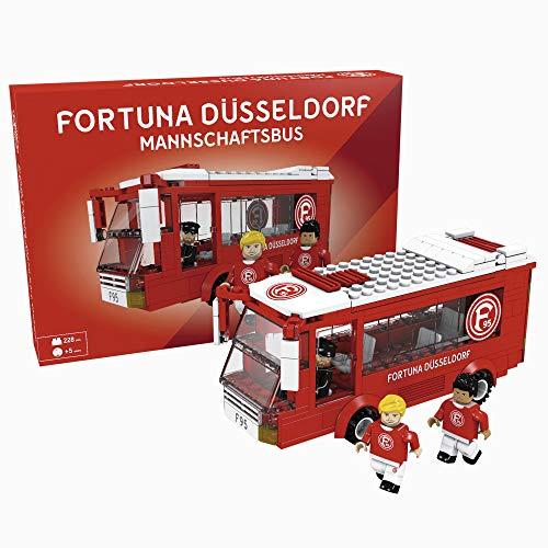 Fortuna Düsseldorf Bausatz Mannschaftsbus
