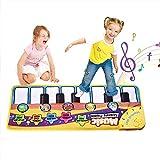 Faburo Piano Mat Musik Matte Tanzmatte Kinder Tastatur Matte Spielzeug für Kinder Lernspielzeug...