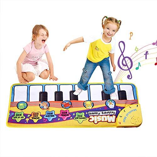Faburo Piano Mat Musik Matte Tan...