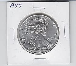 1997 American Silver Eagle 1 Ounce Silver Coin Dollar Brilliant Uncirculated