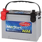 Delphi BU9078DT MaxStart AGM Premium Automotive Battery, Group Size 78DT (Dual Terminal)