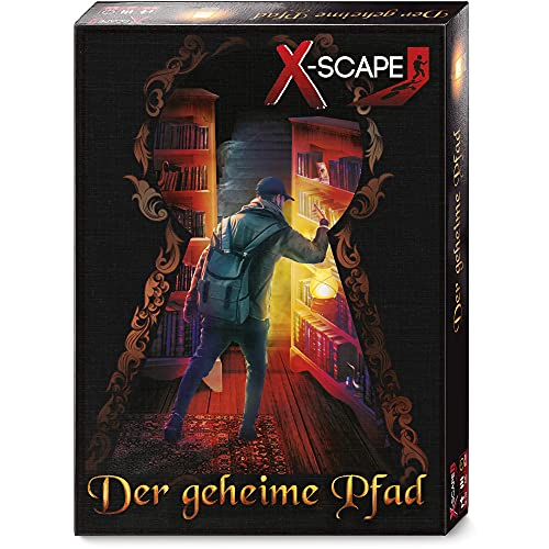 X-SCAPE - Der geheime Pfad- Escape Room Spiel für 1-5 Spieler ab 12 Jahren - Level: Fortgeschrittene