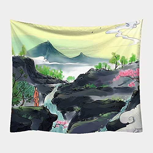CYYyang Tapestries Bohemian Table Bedroom Hanging cloth beach towel printed blanket
