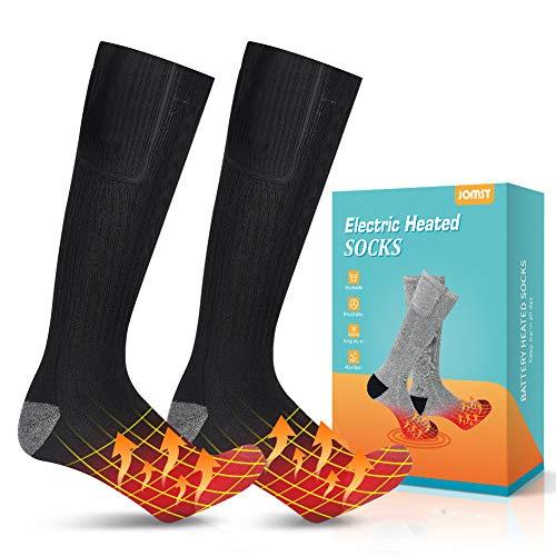 Jomst Upgraded Heated Socks, Rechargeable Battery Heating Socks, Winter Warm Cotton Socks,...