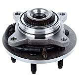 ECCPP Front Only 4WD Wheel Hub Bearing Assembly Replacement for 2005-2008 Ford F-150 Ford F-150 Heritage Lincoln Mark LT 6 lugs W/ABS 515079 1 Pcak