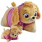 Pillow Pets Nickelodeon Paw Patrol Skye Set, 16' Skye & 5' Skye Mini, Plush Stuffed Animal Toys, Pink