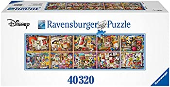 Ravensburger Mickey Through The Years 40,320 Piece Jigsaw Puzzle - World s Largest Mickey Puzzle - Mickey 90th Anniversary Edition