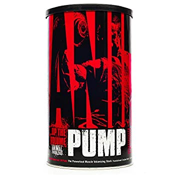 Animal Pump – Preworkout - Vein Popping Pumps – Energy and Focus – Creatine – Nitric Oxide – Easy to Remove Stimulant Pill for Anytime Workouts – 30 Packs