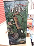 FLY FISHIN' Electronic Game Battery operated with lights and noises. Great fly fishin' practice. In original retail box. 1998 Fly Fishin' Monte Carlo by Radica. #9903 GB. Ages 8 and Up.