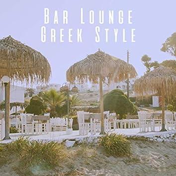 Bar Lounge Greek Style