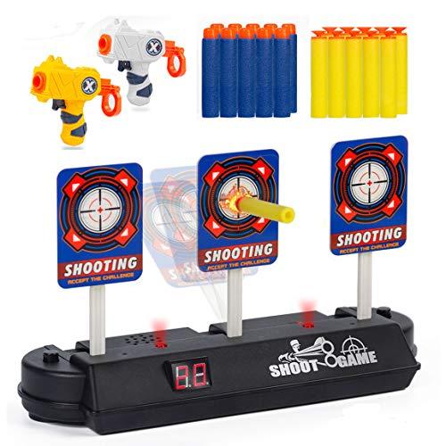 Subao Digital Target for Nerf Guns Rival/Blaster/N-Strike Best Gifts Toys for 3 4 5 6 7 8 Boys Kids Toddler