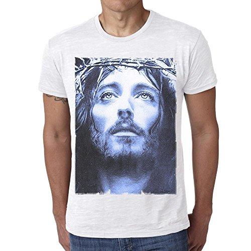 One in the City Jesus Christ Blue: Men's T-Shirt Celebrity Star