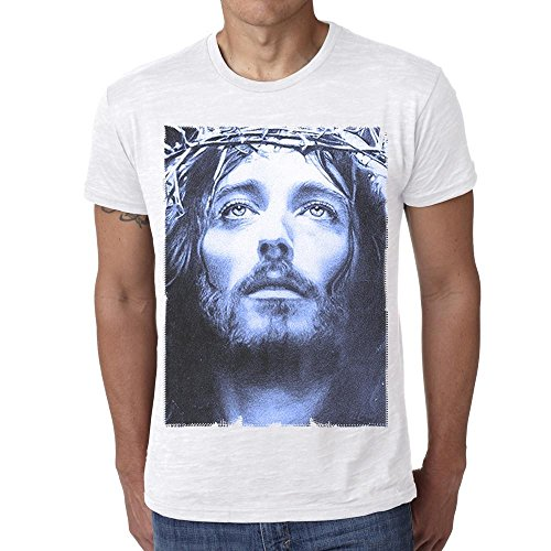 One in the City Jesus Christ Blue: Men's T-Shirt Celebrity Star