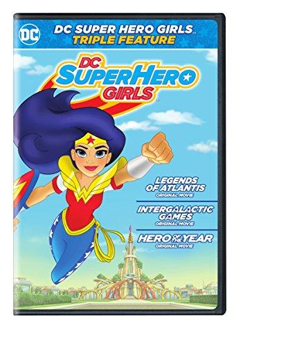 DC Super Hero Girls Triple Feature (DVD)