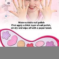 家のおもちゃ化粧道具女の子は女の子の子供のための化粧セット、化粧箱を再生します(High heels makeup color box, Santa Claus)