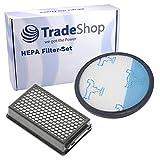Trade-Shop - Juego de filtros HEPA para Rowenta RO3715EA RO3718EA RO3724EA RO3731EA RO3753EA...