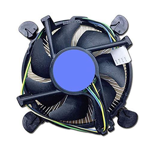 Acreny CPU Ventilator Intelligente Temperatuur Controle CPU Koeler Ventilator Stille Aluminium 1155/1156 Radiator
