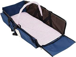 Locisne Berceau de voyage pour bébé portable, berceau pliable sac à langer pour bébé lit à langer station de transport mul...