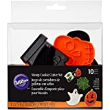 Wilton Set de cortantes de Galletas diseño de Halloween, Multicolor, 10 Piezas