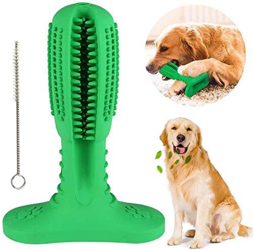 Freudlich Cepillo de Dientes para Perros, Limpieza de higiene Dental,Juguete para Masticar para Limpieza de Dientes de Perro, Goma Natural de Larga duración, no tóxica, Cuidado Oral para Mascotas