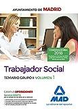 Trabajador Social del Ayuntamiento de Madrid. Temario Grupo II  Volumen 1